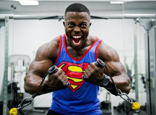 athlete biceps body 38630