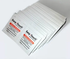 Stack of Alcohol Wipes
