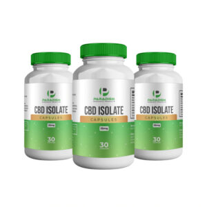 CBD Isolate Capsules 25mg