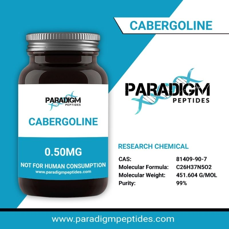 Cabergoline 0.5mg Research Chemicals
